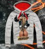 E1SYNDICATE Hooded Sweatshirt  NAUGHTY WAYS COLOR HUSTLE