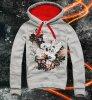 E1SYNDICATE Hooded Sweatshirt  FLOWER FxxK