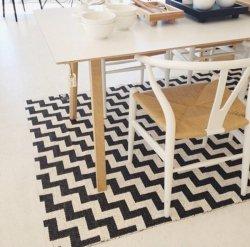 北欧 ブリタスウェーデン プラスチックラグマット ガンネル ブラック【Brita Sweden Gunnel rug black】