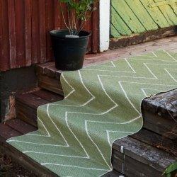 ブリタスウェーデン 北欧 プラスチック製 デザインラグ リタ セージグリーン【Brita Sweden Rita rug sage】