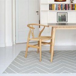 ブリタスウェーデン 北欧 プラスチック製 デザインラグ リタ グレー【Brita Sweden Rita rug concrete】