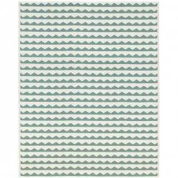 ブリタスウェーデン 北欧 プラスチック製 デザインラグ ギッタン アクア【Brita Sweden Gittan rug water】