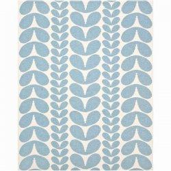 ブリタスウェーデン 北欧 プラスチック製 デザインラグ カリン ライトブルー【Brita Sweden Karin rug Light Blue】