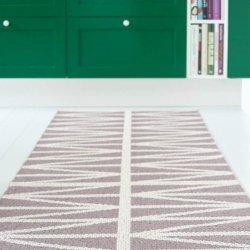 ブリタスウェーデン 北欧 プラスチック製 デザインラグ ヘルミ アメジストグレー【Brita Sweden Helmi rug Amethyst Grey】
