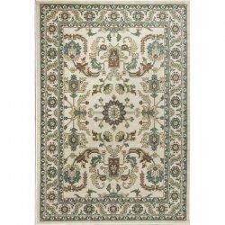 ペルシャ絨毯柄 オリエンタルラグ アイボリー【Kas Oriental Shiraz 5009 Rug】