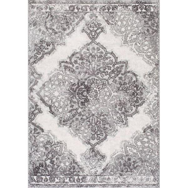 【Bosphorus BD37 Classic Corinthian Chamber Rug】 輸入デザインラグ ヴィンテージ加工ラグ オリエンタルラグ マット カーペット 絨毯