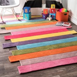 <img class='new_mark_img1' src='//img.shop-pro.jp/img/new/icons12.gif' style='border:none;display:inline;margin:0px;padding:0px;width:auto;' />【Keno Contempo Stripes Rug】 輸入デザインラグ 子供用ラグ キッズラグ マット カーペット 絨毯