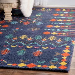 <img class='new_mark_img1' src='//img.shop-pro.jp/img/new/icons12.gif' style='border:none;display:inline;margin:0px;padding:0px;width:auto;' />【Berber SM41 Hand Tufted Gabbeh Tribal Rug】 輸入デザインラグ マット カーペット 絨毯