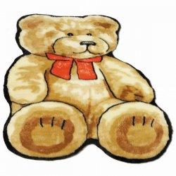 テディーベア キッズ・子供用 ウールラグ 【Teddy Bear Kids Rug】