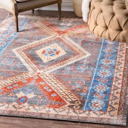 <img class='new_mark_img1' src='//img.shop-pro.jp/img/new/icons8.gif' style='border:none;display:inline;margin:0px;padding:0px;width:auto;' />【Silky Road AS31 Diamond Key Medallion Rug】 輸入デザインラグ オリエンタルラグ マット カーペット 絨毯