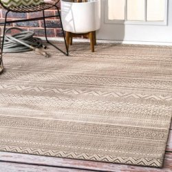 <img class='new_mark_img1' src='//img.shop-pro.jp/img/new/icons7.gif' style='border:none;display:inline;margin:0px;padding:0px;width:auto;' />【Aperto Outdoor Tribal Bands Rug】 オリエンタルラグ アウトドアラグ ダイニングラグ