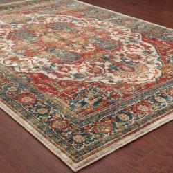ペルシャ絨毯柄 豪華 オリエンタルラグ【Oriental Weavers Sedona 6382 Rug】