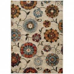 花柄 オリエンタル フローラル デザインラグ【Oriental Weavers Sedona 6361 Rug】