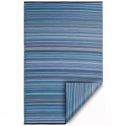 ファブハビタット カンクン アウトドア ダイニング プラスチックラグ インディゴブルー 【Fab Habitat Earth Cancun Indigo Blue】