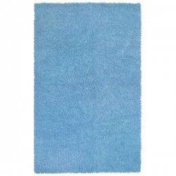 シェニール糸 モコモコ柔らか シャギーラグ ライトブルー【St. Croix Trading Shagadelic Chenille Twist Rug  Blue】