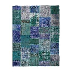 【即納商品】 トルコ絨毯 パッチワークラグ アナトリア オールドカーペット 303cm×208cm