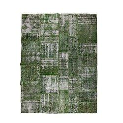 【即納商品】 トルコ絨毯 パッチワークラグ アナトリア オールドカーペット 285cm×199cm