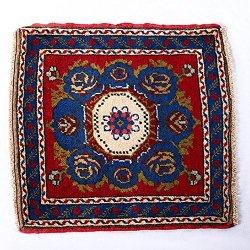 【即納商品】 トルコ絨毯 カーペット トルコ タスピナール ラグマット 65cm×63cm