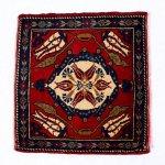 【即納商品】  トルコ絨毯 カーペット 70cm×63cm トルコ タスピナール ラグ マット