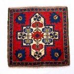 【即納商品】 トルコ絨毯 カーペット 64cm×64cm トルコ タスピナール ラグ マット