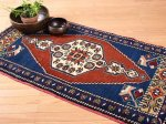 【即納商品】 トルコ絨毯 カーペット 112cm×60cm トルコ タスピナール ラグ マット
