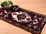 【即納商品】 トルコ絨毯 カーペット 99cm×47cm トルコ タスピナール ラグ マット