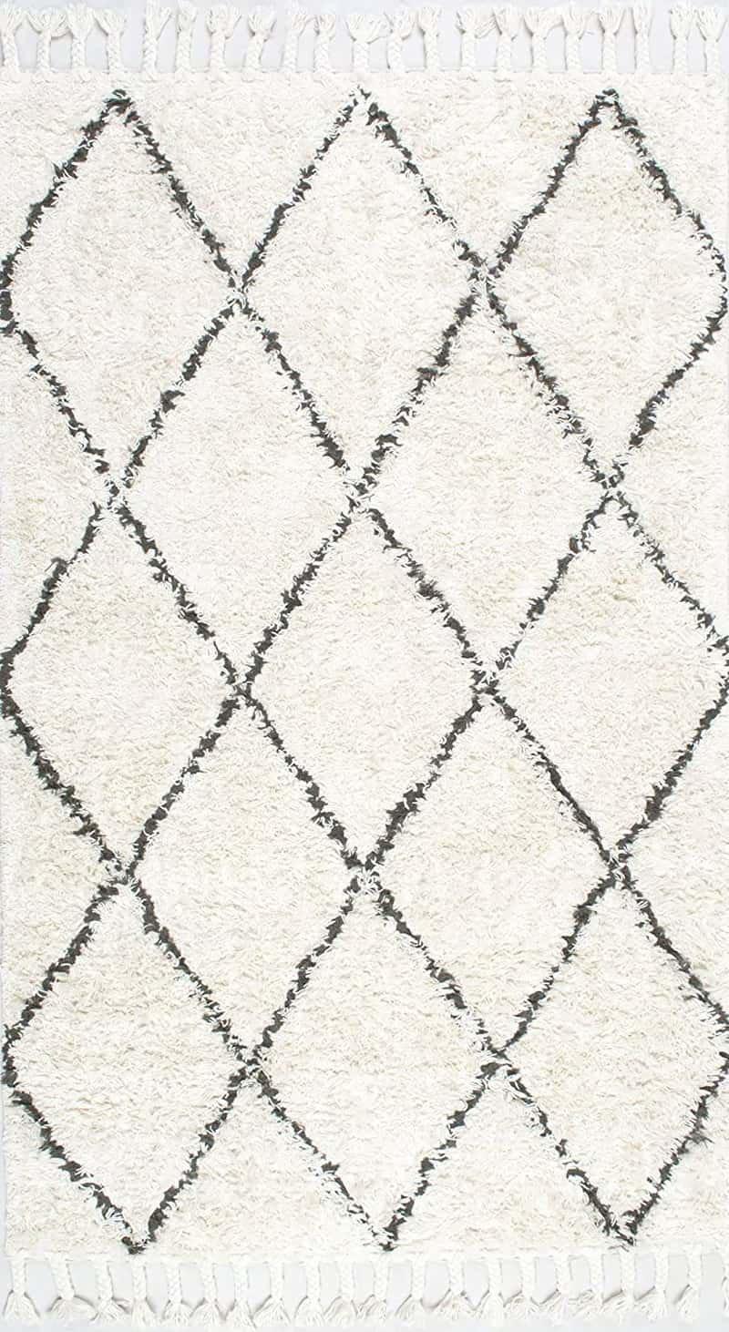 モロッカン ベニワレン風 フリンジ シャギーラグ カーペット 絨毯 輸入ラグ 海外ラグ Marrakesh Shag