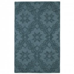クラシック オリエンタル柄 ウール100% デザインラグ ターコイズ【Imprints Classic IPC03 Turquoise】