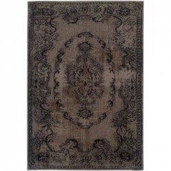 オリエンタル柄 オーバーダイ ヴィンテージ風ラグ アンティークグレー【Oriental Weavers Sphinx Revival 119 Grey】