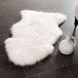 【Prairie Sheepskin Wool White Shag One Pelt 1】  シープスキン・ムートンラグ ニュージーランドウール100%