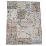 トルコ絨毯 パッチワークラグ アナトリア オールドカーペット 239cm×173cm【即納商品】