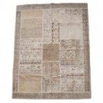 トルコ絨毯 パッチワークラグ アナトリア オールドカーペット228cm×170cm【即納商品】