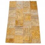 【即納商品】 トルコ絨毯 パッチワークラグ アナトリア オールドカーペット 296cm×201cm
