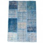 【即納商品】 トルコ絨毯 パッチワークラグ アナトリア オールドカーペット 180cm×119cm