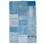【即納商品】 トルコ絨毯 パッチワークラグ アナトリア オールドカーペット 186cm×120cm