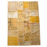 【即納商品】 トルコ絨毯 パッチワークラグ アナトリア オールドカーペット 231cm×160cm