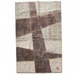 トルコ絨毯×オールドキリム パッチワークラグ 232cm×167cm【即納商品】