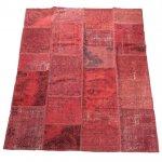 トルコ絨毯 パッチワークラグ アナトリア オールドカーペット 238cm×201cm【即納商品】