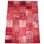 トルコ絨毯 パッチワークラグ アナトリア オールドカーペット 297cm×200cm【即納商品】
