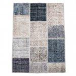 トルコ絨毯 パッチワークラグ アナトリア オールドカーペット 178cm×120cm【即納商品】