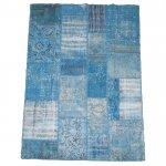 トルコ絨毯 パッチワークラグ アナトリア オールドカーペット 248cm×170cm【即納商品】