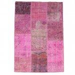 トルコ絨毯 パッチワークラグ アナトリア オールドカーペット 184cm×121cm【即納商品】