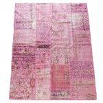 【即納商品】 トルコ絨毯 パッチワークラグ アナトリア オールドカーペット 235cm×171cm