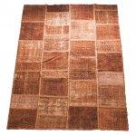 【即納商品】 トルコ絨毯 パッチワークラグ アナトリア オールドカーペット 285cm×197cm