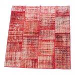 【即納商品】 トルコ絨毯 パッチワークラグ アナトリア オールドカーペット 216cm×194cm