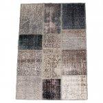 トルコ絨毯 パッチワークラグ アナトリア オールドカーペット 170cm×110cm【即納商品】