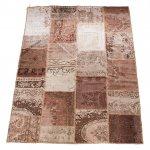 トルコ絨毯 パッチワークラグ アナトリア オールドカーペット 300cm×200cm【即納商品】