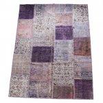 【即納商品】 トルコ絨毯 パッチワークラグ アナトリア オールドカーペット 295cm×202cm