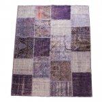 【即納商品】 トルコ絨毯 パッチワークラグ アナトリア オールドカーペット 238cm×182cm