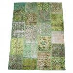 【即納商品】 トルコ絨毯 パッチワークラグ アナトリア オールドカーペット 299cm×200cm